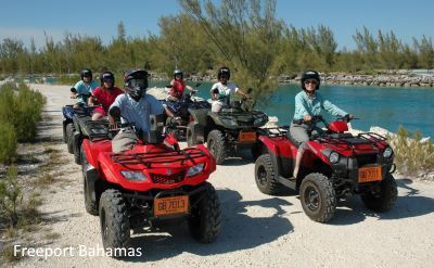 Freeport Bahamas ATV ride