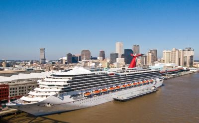 Cruises Out of New Orleans - the Complete Calendar