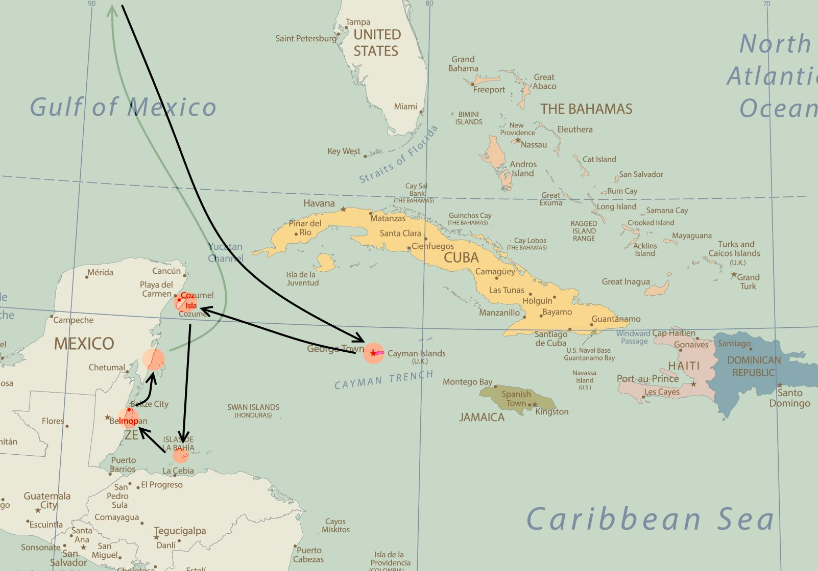 Western Caribbean Cruises On Norwegian Cruise Line From New Orleans