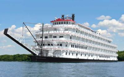 Mississippi River cruise from New Orleans